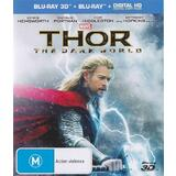 Thor: The Dark World (Blu-Ray & Blu-Ray 3D, 2013, 2 Discs) - As New Condition