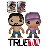 Funko POP! True Blood Bundle (2 POPs) - Alcide Herveaux & Lafayette Reynolds - Mint