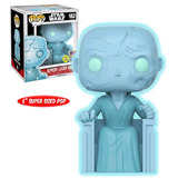 "Funko POP! Star Wars #182 Supreme Leader Snoke 6"" Super Sized Pop (Glows In The Dark) -  2017 San Diego Comic Con (SDCC) Exclusive - New, Mint"