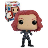 Funko POP! Marvel Captain America Civil War #132 Black Widow - New, Mint Condition Vaulted