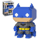 Funko Pop! 8-Bit DC Super Heroes #01 Batman - Funko 2017 New York Comic Con (NYCC) Limited Edition - New, Mint