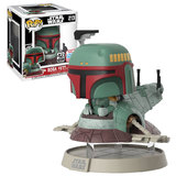 Funko Pop! Star Wars #213 Boba Fett With Slave One - Funko 2017 New York Comic Con (NYCC) Limited Edition - New, Mint