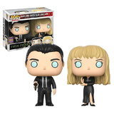 Funko POP! Television Twin Peaks Black Lodge Cooper & Black Lodge Laura 2 Pack - Funko 2017 San Diego Comic Con (SDCC) Exclusive - New, Mint Condition
