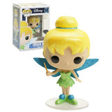 Funko POP! Disney #10 Tinker Bell (Glitter) - Diamond Collection - New, Mint Condition - Expected September 2018
