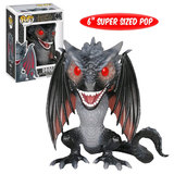 "Funko POP! Game Of Thrones #46 Drogon 6"" Super Sized Pop - New, Mint Condition"
