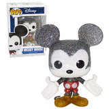 Funko POP! Disney #01 Mickey Mouse (Glitter) - Diamond Collection - New, Mint Condition