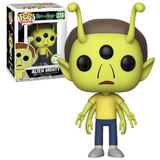 Funko POP! Animation Rick And Morty #338 Alien Morty - 2018 Emerald City Comic Con (ECCC) Exclusive - New, Mint Condition