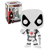 Funko POP! Marvel Deadpool #112 Thumbs Up (Black/White) - 2016 San Diego Comic Con (SDCC) Limited Edition - New, Mint Condition