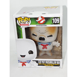 "Funko POP! Movies Ghostbusters #109 Stay Puft Marshmallow Man (Toasted Variant) - 6"" Super-Sized - New Box Damaged"