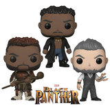 Funko POP! Marvel Black Panther - 2018 Bundle (3 POPs) - New, Mint Condition