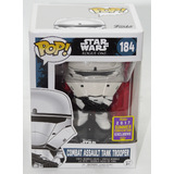 Funko POP! Star Wars Rogue One #184 Combat Assault Tank Trooper - 2017 San Diego Comic Con Exclusive - New, Box Damaged