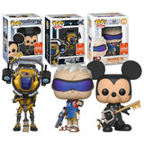Funko POP! Games Overwatch + Destiny + Kingdom Hearts Bundle (3 POPs) - 2018 San Diego Comic Con (SDCC) Limited Edition - New, Mint Condition