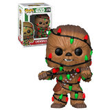 Funko POP! Star Wars Holiday #278 Chewbacca (With Lights) - New, Mint Condition - Expected September 2018