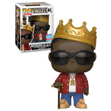 Funko POP! Rocks The Notorious B.I.G. #82 Notorious B.I.G With Crown - Funko 2018 New York Comic Con (NYCC) Limited Edition - New, Mint Condition