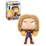 Funko POP! Marvel Captain Marvel #432 Captain Marvel (Glows In The Dark) - New, Mint Condition - Expected January, 2019