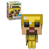 Funko POP! Games Minecraft #321 Steve In Gold Armor - Walmart Exclusive Import - New, Mint Condition