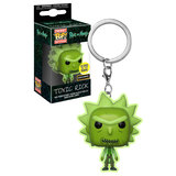 Funko POCKET POP! Keychain Rick And Morty Toxic Rick (Glows In The Dark) - Hot Topic Exclusive - New, Mint Condition