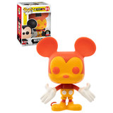Funko POP! Disney #01 Mickey Mouse (Orange Colorways) - Funko Shop Limited Exclusive - New, Mint Condition