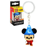Funko POCKET POP! Keychain Disney Mickey 90 Years - Sorceror Mickey - Box Lunch Exclusive - New, Mint Condition