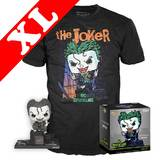 Funko DC Collection Pop! Tees #240 Jim Lee The Joker (Hush) POP! Deluxe & T-Shirt Box Set - Exclusive Import - New, Mint [Size: XL]