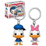 Funko POCKET POP! Keychain 2 Pack Disney - Donald And Daisy - New, Mint Condition