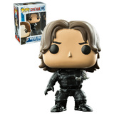 Funko POP! Marvel Captain America Civil War #168 Winter Soldier (No Arm) - New, Mint Condition, Vaulted