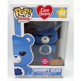 Funko POP! Animation Care Bears #353 Grumpy Bear (Flocked) - Boxlunch Exclusive Import - New, Minor Box Damage