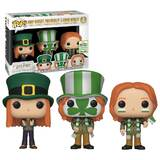 Funko POP! Harry Potter 3 Pack Weasleys - 2019 Emerald City Comic Con (ECCC) Exclusive - New, Mint Condition