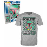 Funko POP! Tees Star Wars #70 Boba Fett T-Shirt New In Package (Minor Box Damage)
