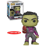 "Funko POP! Marvel Avengers Endgame #478 Hulk (With Gauntlet) Super Sized 6"" - New, Mint Condition"