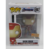 Funko POP! Marvel Avengers Endgame #467 Iron Man - Boxlunch Exclusive Import - New, Minor Box Damage