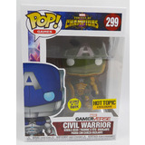 Funko POP! Games  #299 Civil Warrior (Green) - Hot Topic Exclusive Import - New, Minor Box Damage