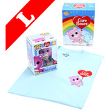 Funko Pop! Tees #351 Care Bears Cheer Bear (Flocked) POP! Vinyl & T-Shirt Box Set - Exclusive Import - New, Mint [Size: Large]
