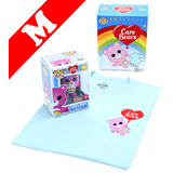 Funko Pop! Tees #351 Care Bears Cheer Bear (Flocked) POP! Vinyl & T-Shirt Box Set - Exclusive Import - New, Mint [Size: Medium]