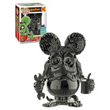 Funko POP! Icons #15 Rat Fink (Grey Chrome) - Funko 2019 San Diego Comic Con (SDCC) Limited Edition - New, Mint Condition