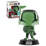 Funko POP! Star Wars #297 Boba Fett (Green Chrome) - Funko 2019 San Diego Comic Con (SDCC) Limited Edition - New, Mint Condition
