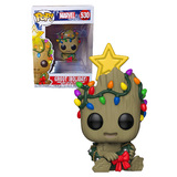 Funko POP! Marvel Holiday #530 Guardians Of The Galaxy Vol 2 Groot - New, Mint Condition