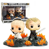 Funko POP! Movie Moments Game Of Thrones #44824 Daenerys And Ser Jorah - New, Mint Condition
