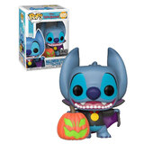 Funko POP! Disney Lilo And Stitch #605 Halloween Stitch - Limited FYE Exclusive Import - New, Mint Condition