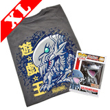Funko Pop! Tees #389 Yu-Gi-Oh Blue Eyes White Dragon POP! Vinyl & T-Shirt Box Set - Exclusive Import - New, Mint [Size: XL]