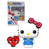 Funko POP! Sanrio #31 Hello Kitty (Anniversary 8-Bit) - Limited Chase Edition - New, Mint Condition