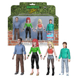 Funko Married With Children Action Figure 4 Pack - Funko 2018 New York Comic Con (NYCC) Limited Edition - New, Near Mint Condition