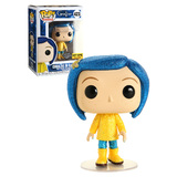 Funko POP! Animation Coraline #423 Coraline In Raincoat (Diamond Collection Glitter) - New, Mint Condition