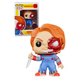 Funko Pop! Movies Child's Play 3 #798 Chucky (Battle Damaged) - New, Mint Condition