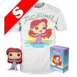 Funko Pop! Tees #564 Disney The Little Mermaid POP! Vinyl & T-Shirt Box Set - Exclusive Target Import - New, Mint [Size: Small]