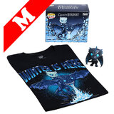 Funko Pop! Tees #22 Game Of Thrones Icy Viserion POP! Vinyl & T-Shirt Box Set - Exclusive Box Lunch Import - New, Mint [Size: Medium]