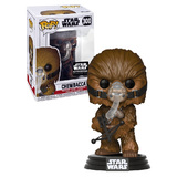Funko POP! Star Wars #300 Chewbacca (With Mask) #2 - Smugglers Bounty Exclusive - New, Slight Box Damage
