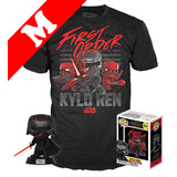 Funko Pop! Tees #308 Star Wars Kylo Ren POP! Vinyl & T-Shirt Box Set - Exclusive Target Import - New, Mint [Size: Medium]