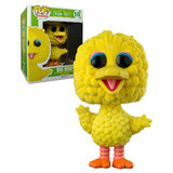 "Funko POP! Sesame Street #10 Big Bird (Flocked) Super Sized 6"" POP! - New, Mint Condition"
