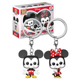 Funko POCKET POP! Keychain 2 Pack Disney - Mickey And Minnie Mouse - New, Mint Condition